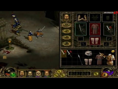 Throne of Darkness gameplay