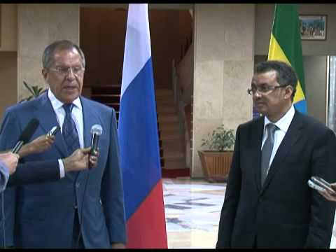 Sergey Lavrov statement following talks with Prime Minister of Ethiopia
