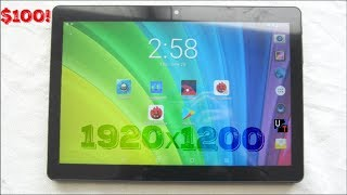 "One Of The Best $100 Tablets Of 2018 - BENEVE 10.1"" 1920x1200 Android Tablet w/Case!"