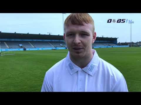 Dubs TV - Dublin Hurler Fintan McGibb looks ahead to Wexford clash