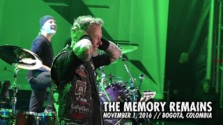 Клип Metallica - The Memory Remains (live)
