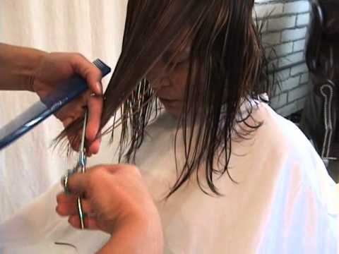 Mid-Length Custom Modern Angled Bob featuring Sharon Sovinski.wmv