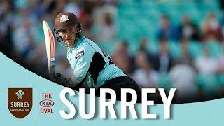 Jason Roy makes a brilliant century against Somerset