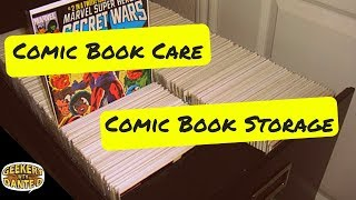 Comic Book Care and Storage
