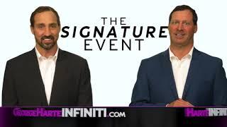 Harte INFINITI - The Signature Event - Q50, QX30 & More