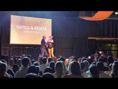 2016 Sydney International Bachata Festival - Gatica and Keskya (Sunday night)