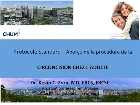 Circoncision Chez L'adulte - Video Éducation 2013 Francais - Dr. Zorn video