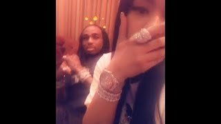 Nicki Minaj and Quavo kisses each other privately to settle their beef