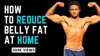 How to reduce Belly Fat at Home specially For Girls But Males Also Can do this at Home or any where
