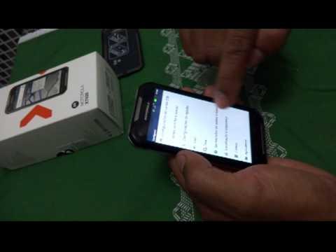 Nextel Iron Rock com chip 3G OI configurado
