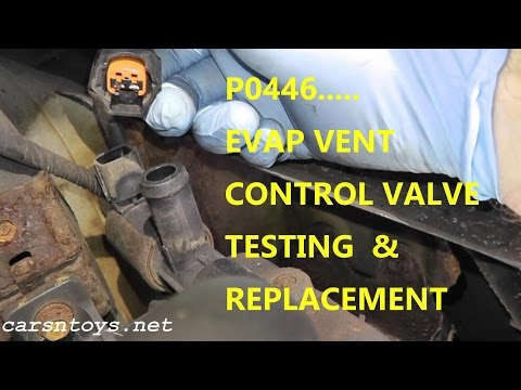 How To Test and Replace EVAP Canister Vent Control Valve P0446