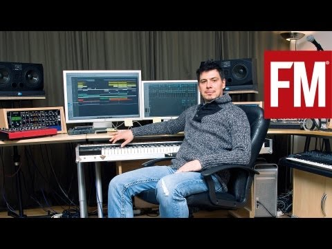 Thomas Gold In The Studio With Future Music Part 1