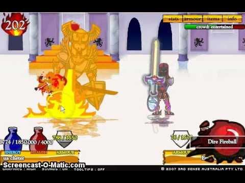 Мечи и Сандали 4 - Бесплатные онлайн игры с читами