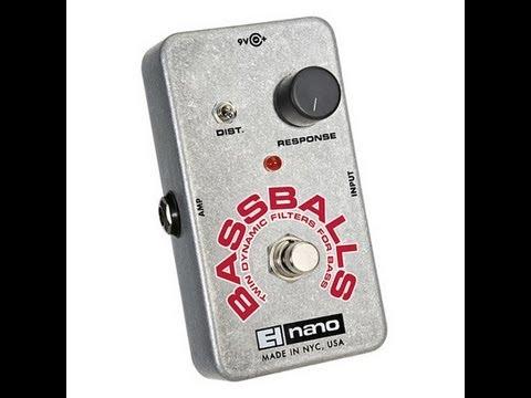 Nano BassBalls Electro-Harmonix Bass Balls EHX Demo