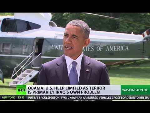Obama: Help to Iraq limited as terror its own problem