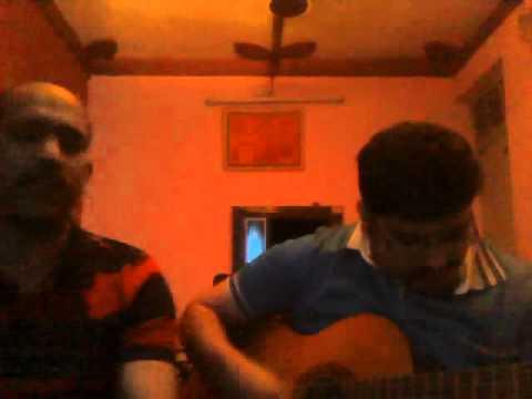 Roz Roz Aankhon tale guitar