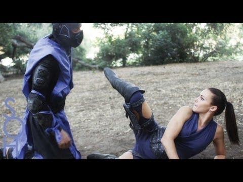 Sub Zero, Scorpion, Kitana Fight! - Mortal Kombat X Soh video
