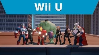 Wii U - Disney Infinity (2.0 Edition) -- Marvel's The Avengers Play Set Trailer