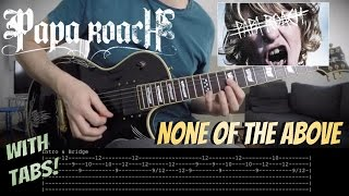 Download Lagu Papa Roach 'None Of The Above' (New Song) - Guitar COVER & LESSON with TABS Gratis STAFABAND