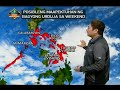 UB: Weather update as of 6:00 [video]