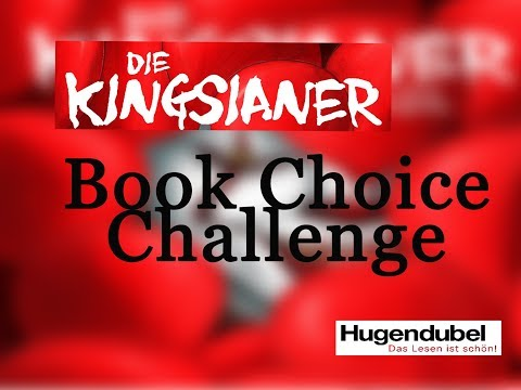 KINGsianer on Tour mit Hugendubel ~ Book Choice Challenge