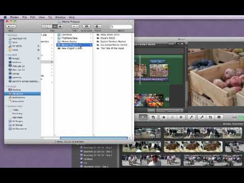 imovie save project
