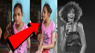 Omg Blind Girl Sings Just Like Whitney Houston