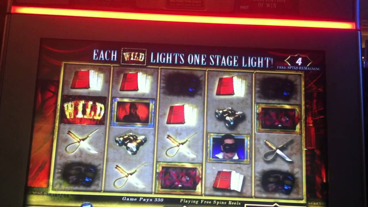 the phantom slot machine