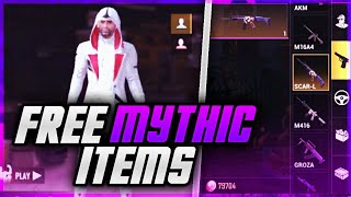 HOW TO GET MYTHIC ITEMS IN PUBG MOBILE CRATES! Get Mythic Items From Crates In PUBG Mobile EVERYTIME