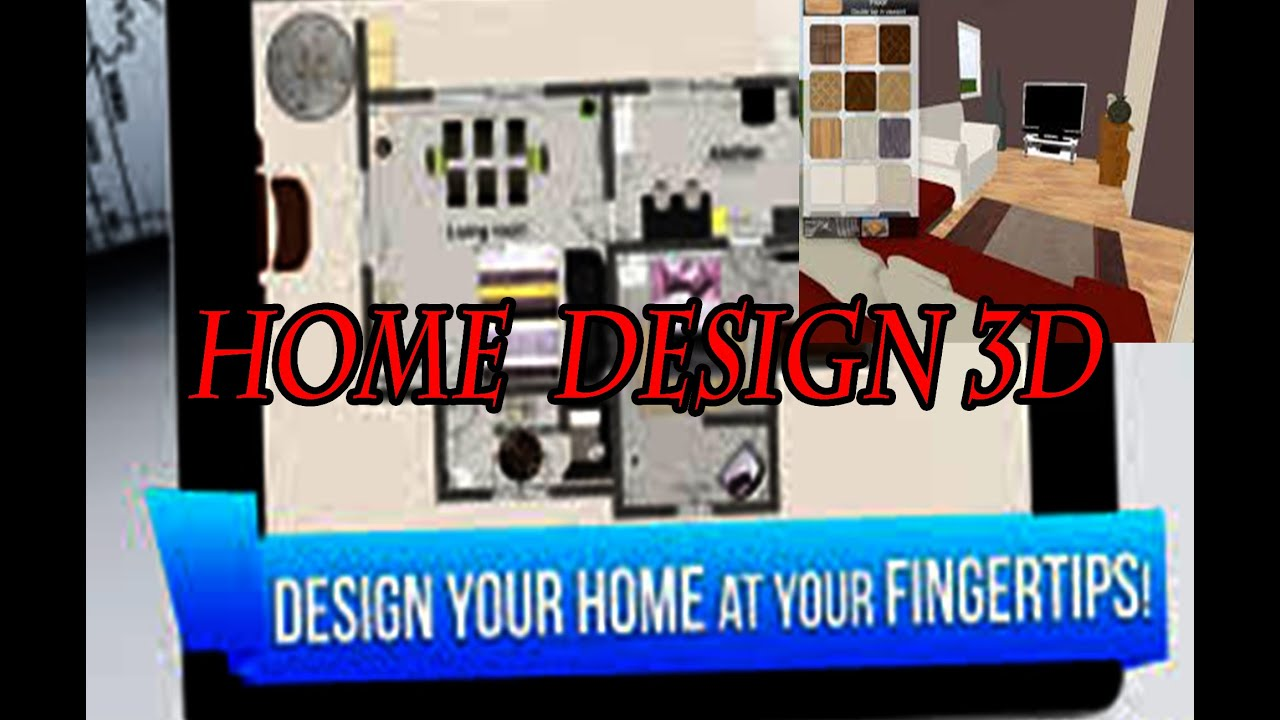 home design 3d android application youtube