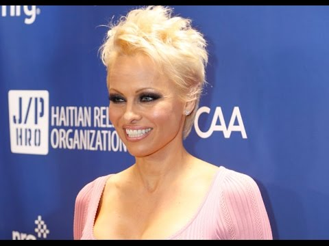 Ice Bucket Chain Finds Broken Link in Pamela Anderson