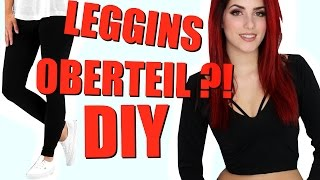 SKURRILER DIY HACK der WIRKLICH FUNKTIONIERT I LEGGINS DIY ✂ I Luisacrashion
