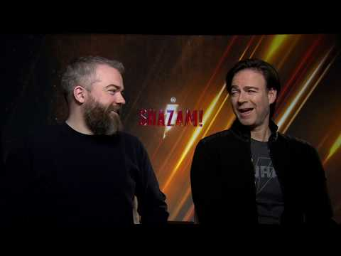 SHAZAM! Movie Interview With David F. Sandberg & Peter Safran By DC World