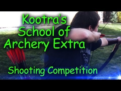 Danz & Kootra Bear Shooting Challenge (Kootra's School of Archery Ep.1 Part 2)