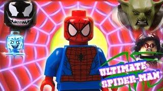 LEGO ULTIMATE SPIDER-MAN SERIES (vs Venom, Green Goblin, Rhino, Deadpool, Sandman) Web Warriors