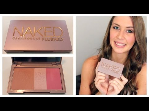 Urban Decay Naked Flushed Palette Review