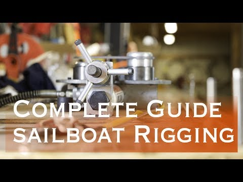 How to Rig a Sail Boat and get ready to set sail at sea (Sailing Miss Lone Star)