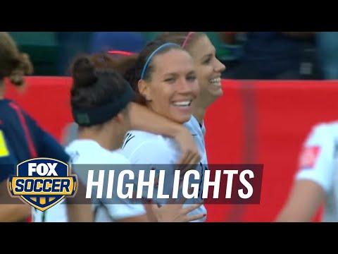Deportes-Alex Morgan breaks Colombia deadlock - FIFA Women's World Cup 2015 Highlights