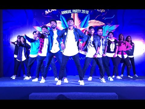 Cognizant All Starz Dance Team performance at Holiday Inn