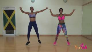 DIP Routine (force it riddim) by Shal Marshall - YAHSUH Dance Fitness Routine