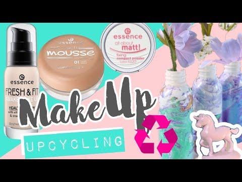 DIY Makeup Upcycling  - Coole Deko & Geschenkideen aus Verpackungsmüll