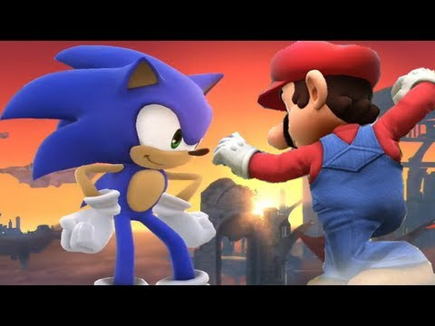 Super Smash Bros 4 Characters: Sonic Trailer (WII U / 3DS Gameplay) 【All HD】