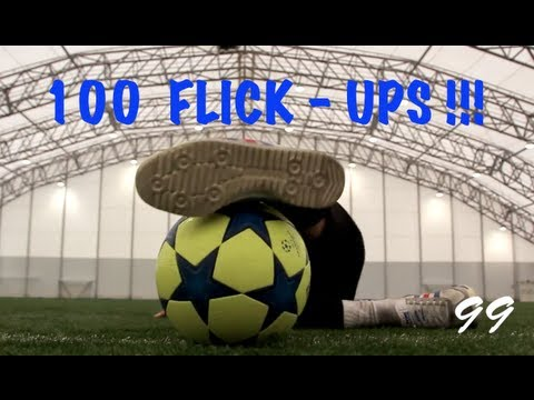 100 Different Ways To Flick The Ball Up