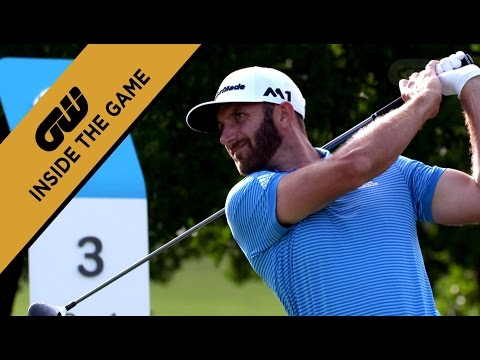 Dustin Johnson at the AT&T Byron Nelson