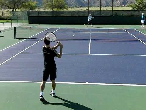 Forehand And Backhand Groundstroke Forehand And Backhand in