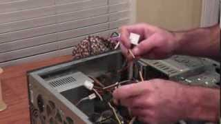 How To Install A PCIe Power Plug Into An Older Computer PSU