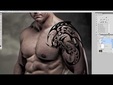 PHOTOSHOP TUTORIAL: Add a Pain Free Tattoo.mov