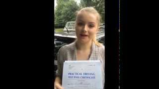 Driving lessons in South West London Helped Jaz Pass Her Driving Test