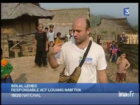 [Action contre la Faim apporte l'eau aux villages Akha du Laos]