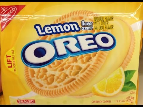 Snack Dayz #2 Oreo Lemon Cookies Review